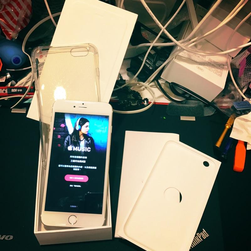 九成新中古機iphone 6 plus 64G 金色