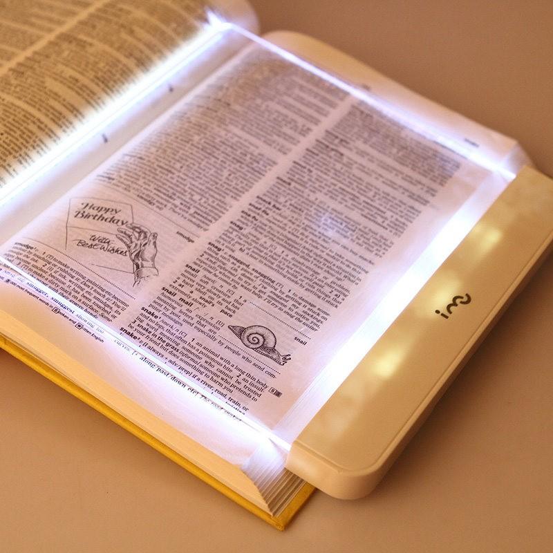imu 幻響看書燈夜讀燈LED 平板閱讀燈學生床頭讀書護眼燈 夾書板