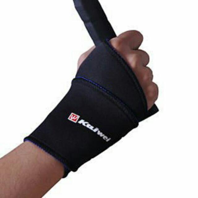 ~ 黑~凱威0603 纏繞式 護腕舞蹈羽毛球網球護腕舉重遊戲護手腕可搭護膝