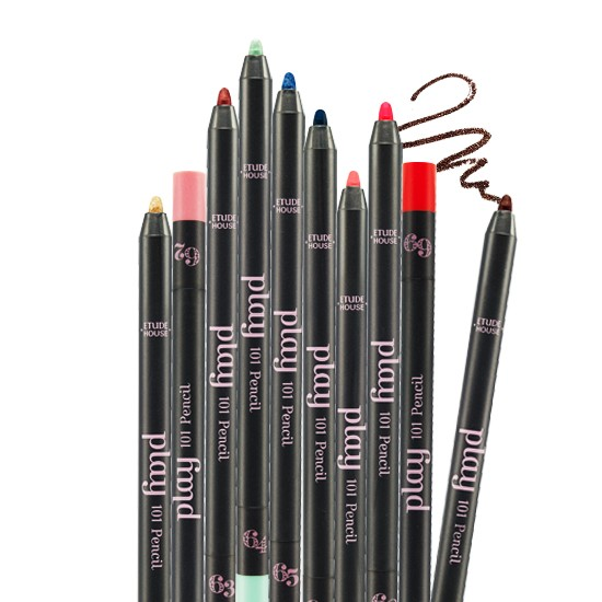 61 70 Etude House 筆筆皆飾妝模術101 炫彩畫筆繽紛比基尼限定版