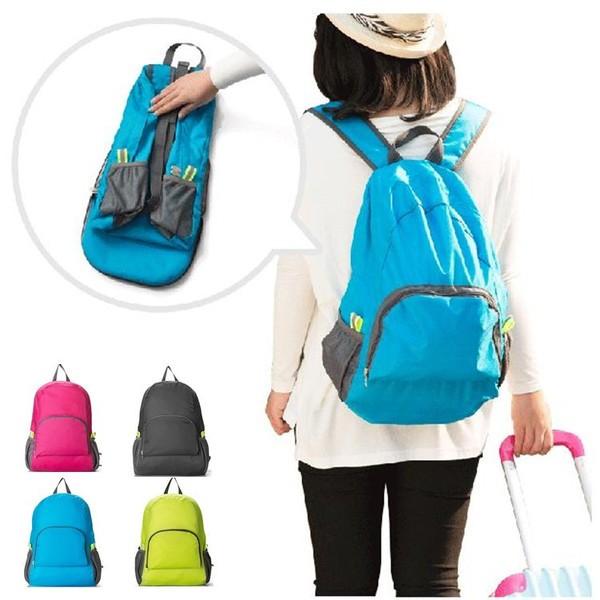 行雙肩 包可折疊背包戶外登山便攜包防水尼龍 皮膚包