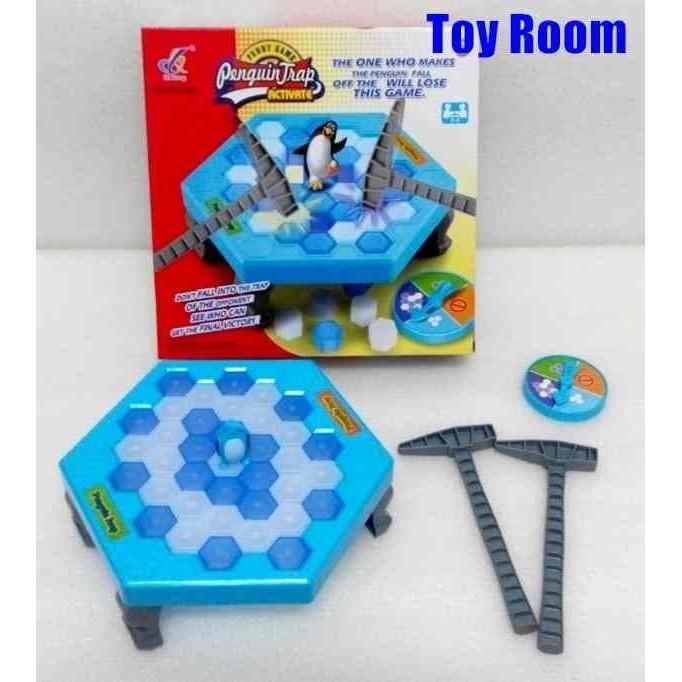 兒童早教玩具冰磚疊疊樂企鵝敲敲樂趣味敲打益智遊戲組打冰磚125 元趣味桌遊