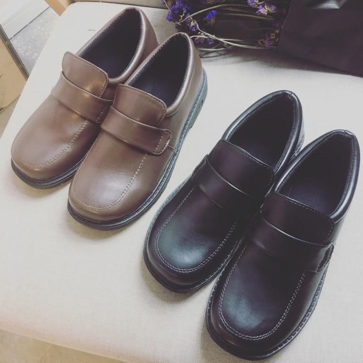 韓模範尋夢之依學院風日系原宿小皮鞋韓國ulzzang 軟妹森系大頭娃娃鞋百搭女單鞋