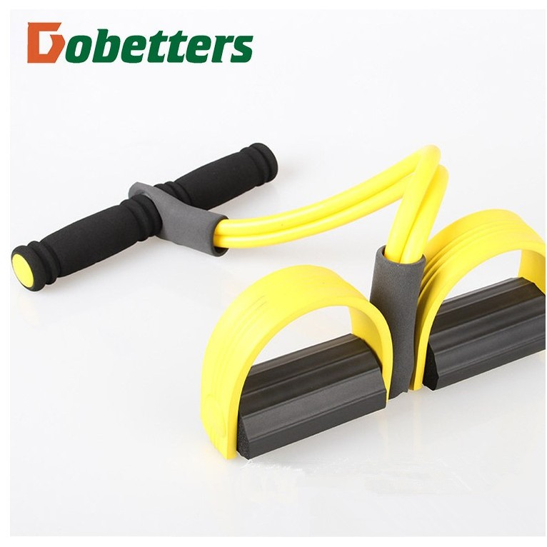 ~LA02 腳蹬拉力器~多 乳膠腳蹬腳踏拉力器腿部拉力器仰臥起坐器輔助彈力繩拉力繩腹部訓練