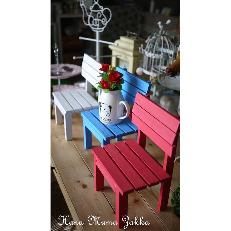 單人小椅子木椅木頭復古zakka 白色鄉村擺飾課椅上課教室彩色雜貨椅子藍色綠色佈置婚禮花木