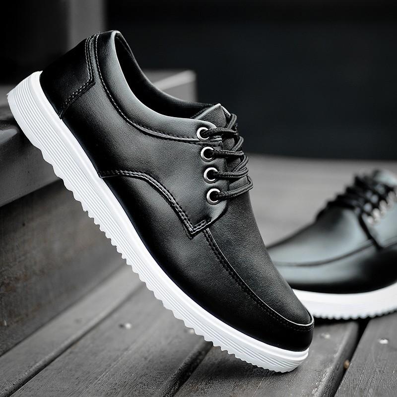 ❂❂2017  皮鞋男生鞋子英倫板鞋男學生小皮鞋 潮鞋上班❂懶人鞋帆布鞋休閒鞋跑鞋編織鞋