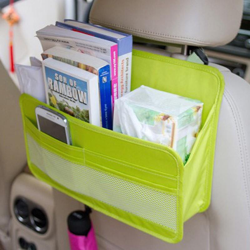 車用雜物收納袋後座置物袋雜物整理袋車內用品收納