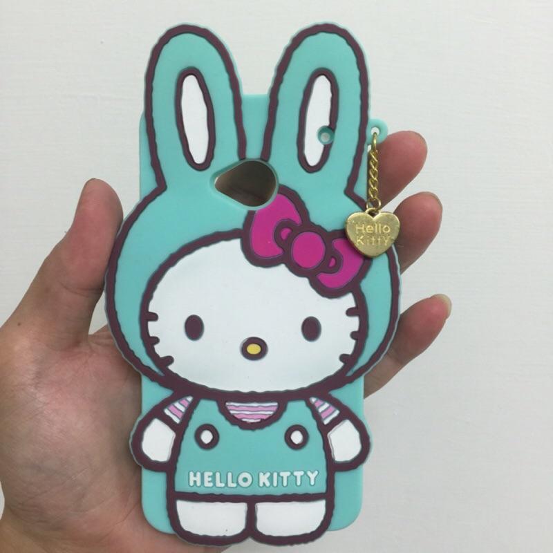 Hello kitty 凱蒂貓兔子系列矽膠 手機殼HTC New One M7