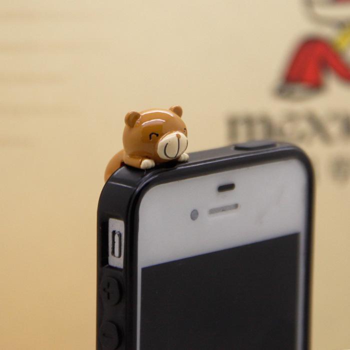 ChocoTeddy 巧克力熊◆趴趴防塵塞✨手機周邊