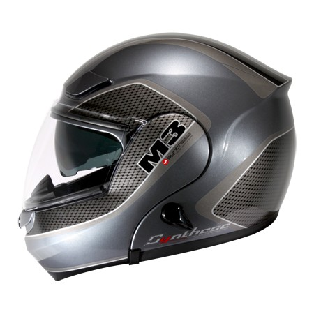 ZEUS ZS3000A GG10 彈性鐵灰黑可輕易更換全罩與半罩內藏式遮陽鏡片