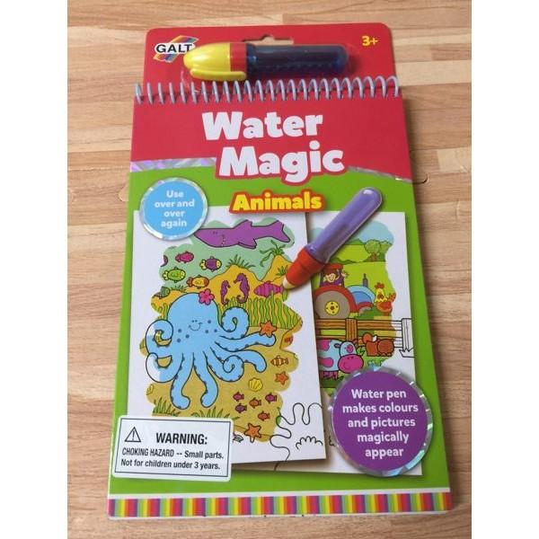 英國GALT 神奇水畫冊神奇水畫筆動物章魚仙貝寶寶