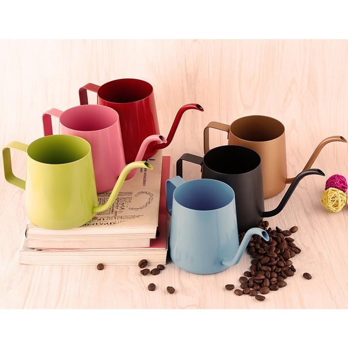 衝 掛耳手沖壺咖啡壺細口壺不鏽鋼 粉色玫瑰金金色