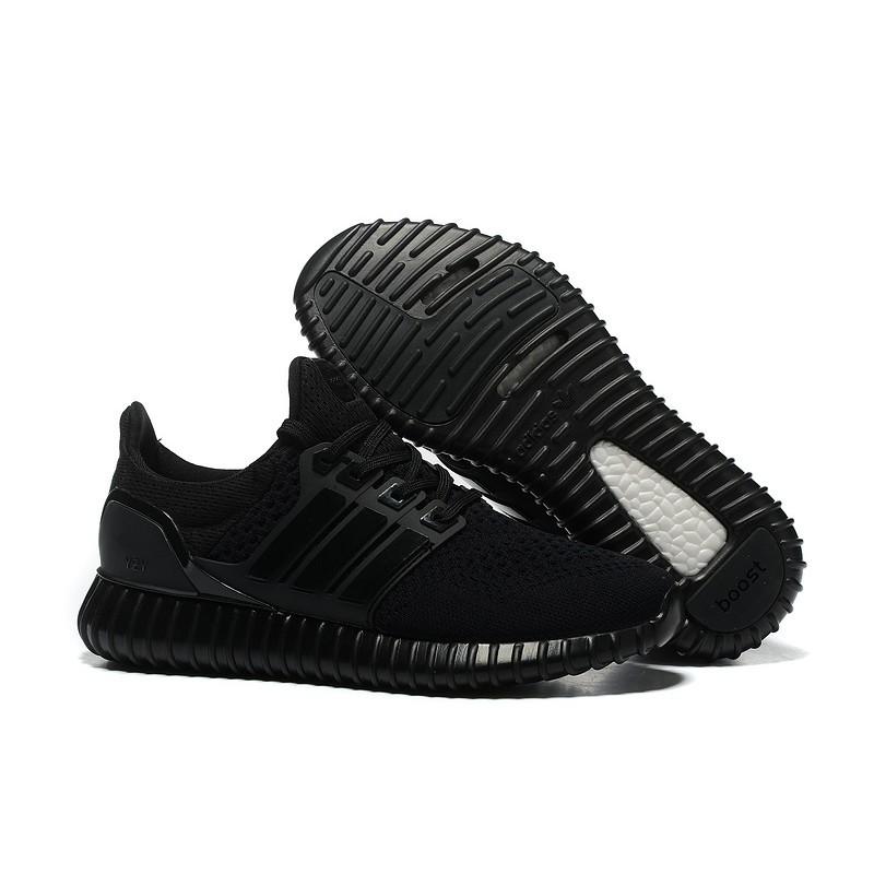 爆款男女鞋36 44 黑色adidas Yeezy Ultra Boost 情侶鞋舒適透氣