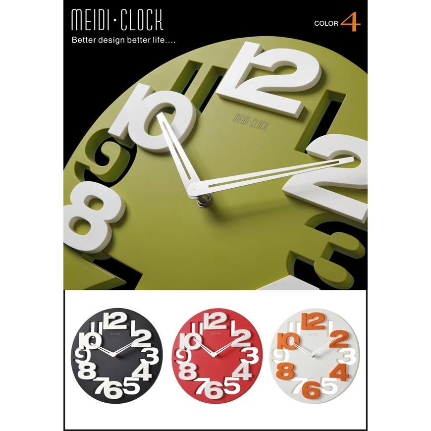 CandyBar 小物~老闆 MEIDI 韓國 掛鐘圓形掛鐘字大掛鐘廳臥3D 立體鐘錶時鐘