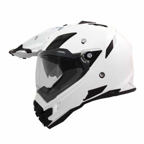 THH TX27 TX27A 越野帽素色全罩式安全帽雙層鏡片內建墨片