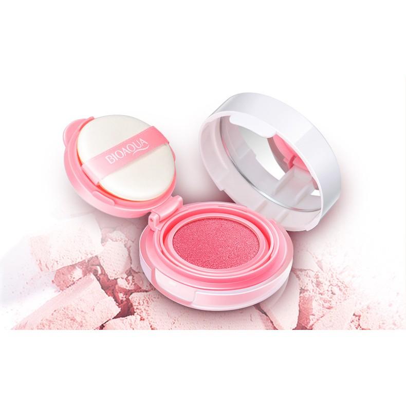 泊泉雅氣墊腮紅膏彩妝自然保濕清潤修容紅潤裸妝定妝胭脂膏