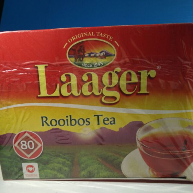 南非Laager 博士茶國寶茶80 包盒