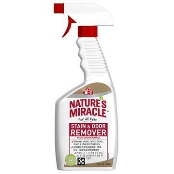 ~ 貓~美國Nature s Miracle 自然奇蹟8in1 去漬除臭噴劑酵素分解消除尿