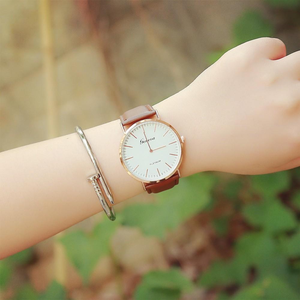 日韓超薄簡約男女士石英腕表 商務男士復古防水真皮帶情侶手錶手錶 表 表手錶 表 表手錶 表