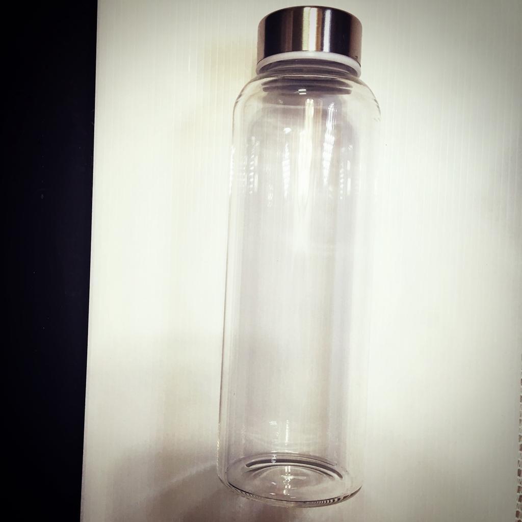 ( )城市 新風格韓國明星玻璃隨行杯水壺450ml 贈隨行杯套