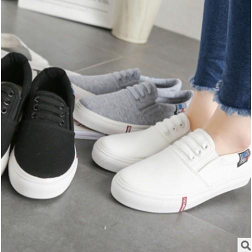 大小姐衣櫃平底鞋休閒鞋學生鞋小白鞋帆布鞋懶人鞋防滑SE30