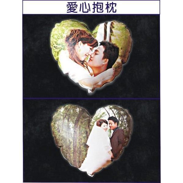 ~王子 小舖~P010 愛心抱枕影像照片客製化 貓狗寵物 贈品