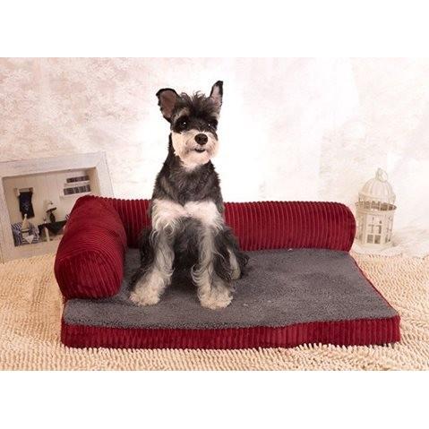 寵物四季 貴妃睡墊可拆洗寵物窩寵物床