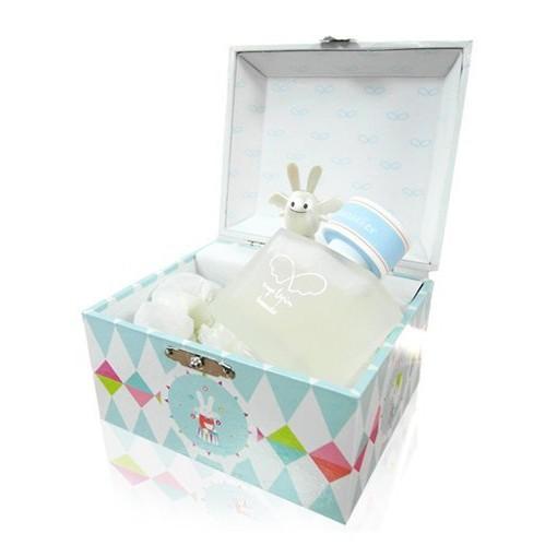 奧創美妝Trousselier 天使兔寶寶音樂盒無酒精香水50ml