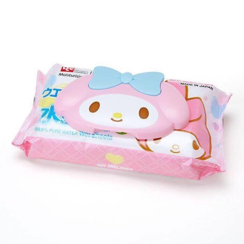 ~Amigo Gift 朋友 ~ Sanrio 三麗鷗美樂蒂My Melody 頭型濕紙巾