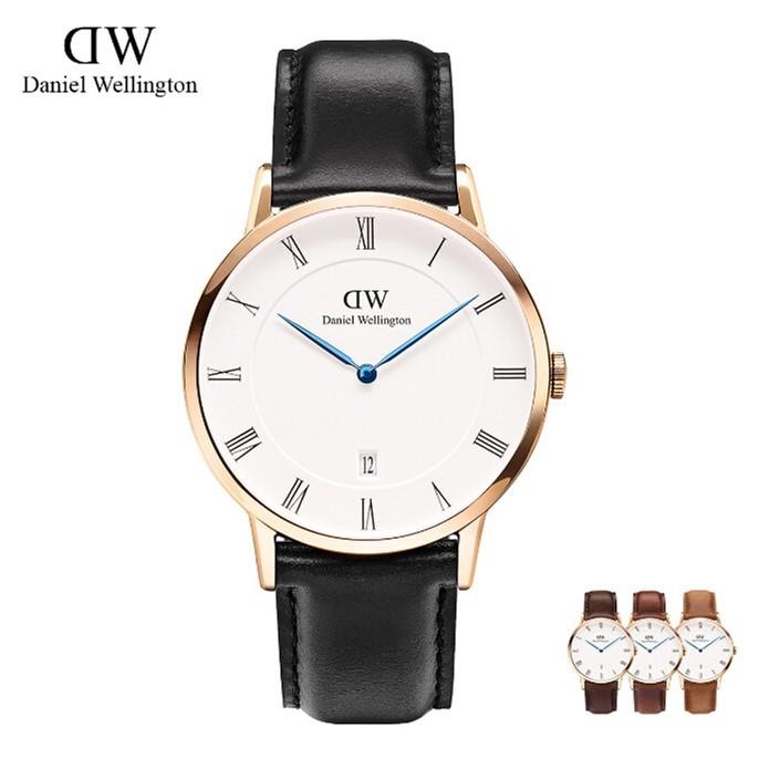 ~珮綺~DanielWellington 男女士手錶丹尼爾惠靈頓女錶男錶藍針DW 手錶女學