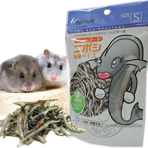 【幸福培菓寵物】【Pet Best 】天生美味》健康營養DHA 丁香魚S 65g 入