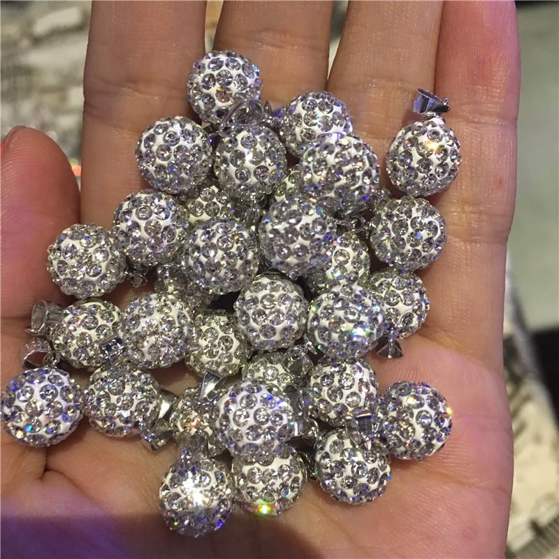 正品香港正生銀飾專櫃 鑽球吊墜閃珠項鍊吊墜簡約百搭五個尺寸大小