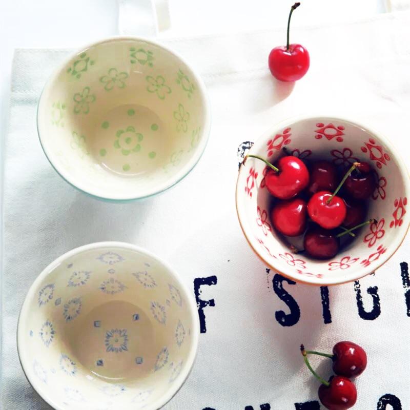 夏日繽紛 美式 印花Mini 小烤碗水果碗