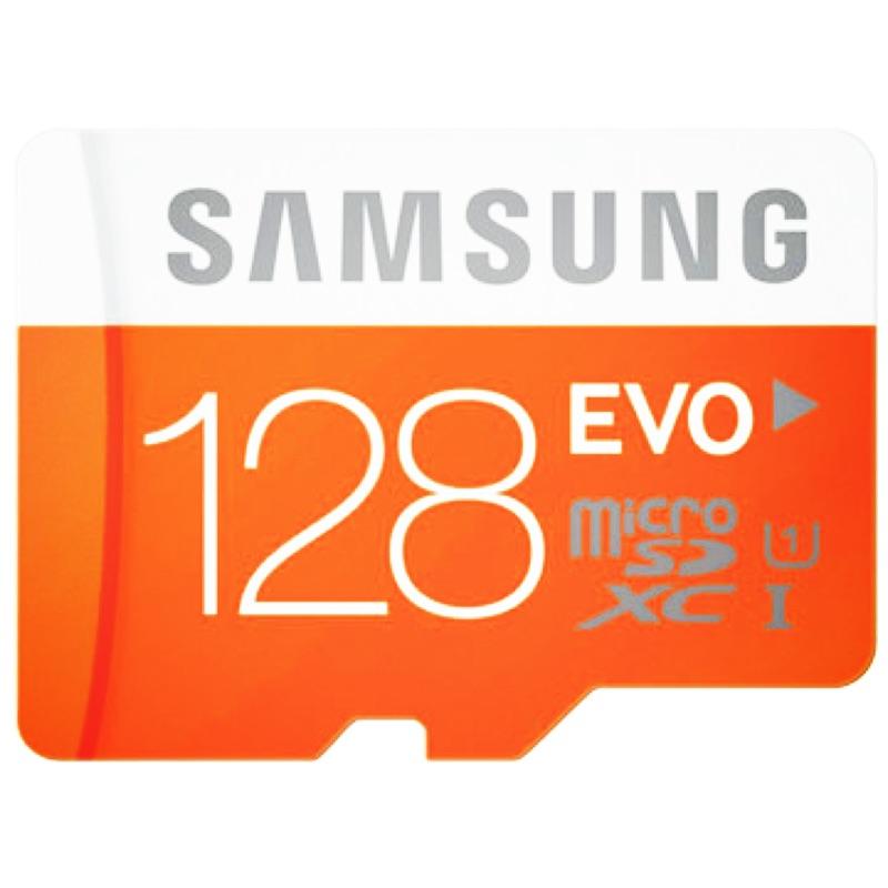 SAMSUNG 三星128GB ~EVO ~Ultra fast microSDXC UH