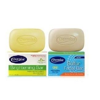 美國DERMISA 淡斑嫩白皂粉刺淨膚皂85g 淡斑皂粉刺皂
