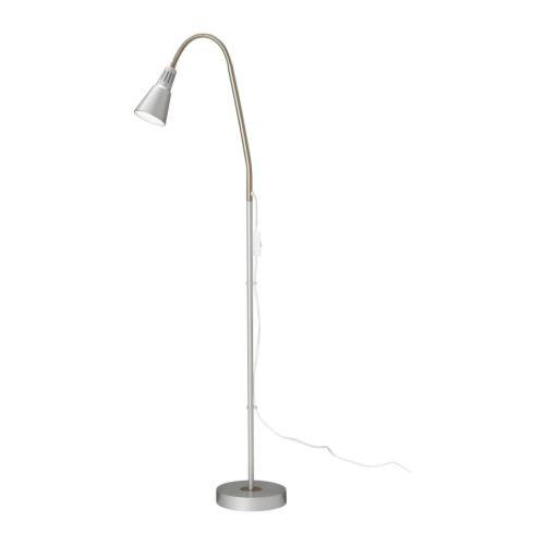 ~IKEA ~超取 典雅KVART 落地燈閱讀燈銀色工作燈檯燈可調式燈臂