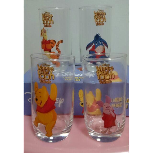 小熊維尼玻璃杯組杯碗組