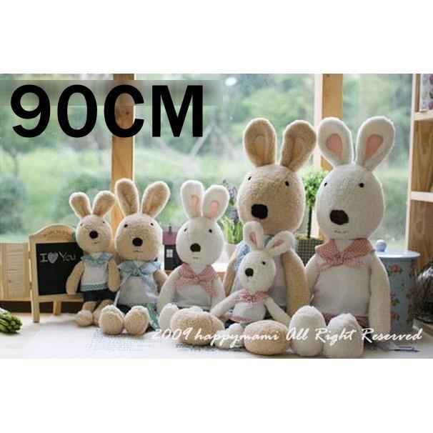 尺寸不 唷小女生最愛跟小女童一樣高唷數量有限賣完為止~90cm 綜合下單區~砂糖兔娃娃le