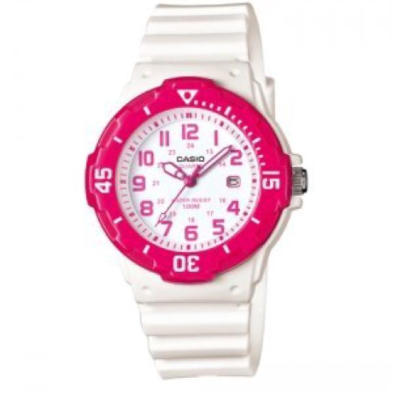卡西歐CASIO 外觀 以潛水風格為概念的女性 風錶款LRW 200H LRW 200H