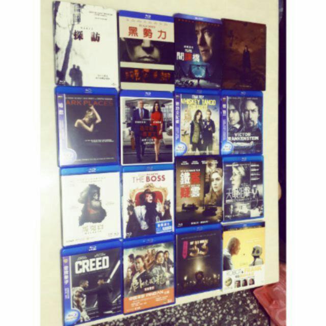 ~ 藍光DVD ~刺客聶隱娘,馬克白,探訪,金牌拳手,臥虎藏龍,我的機械人老友,鐵案疑雲,