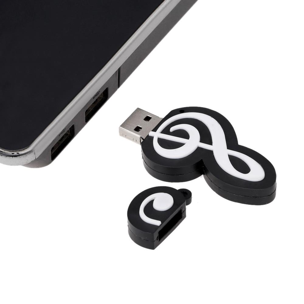 音樂符號4GB USB 2 0 隨身碟
