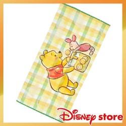 ~午後時光~ 東京迪士尼Disney 小熊維尼pooh 粉小豬蜂蜜大浴巾海邊於水游泳巾50