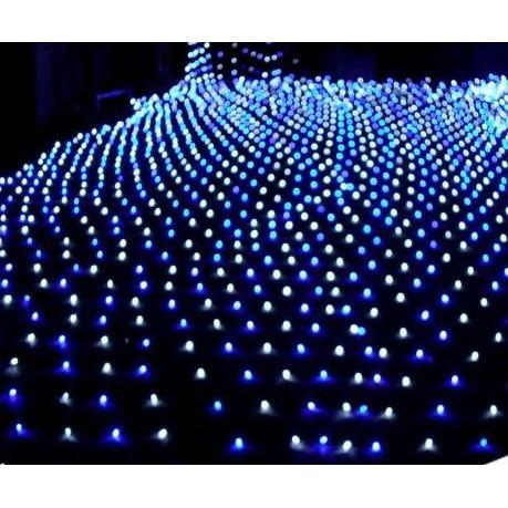 LED ~亞流仕 館~LED 網燈110V 藍白光IP65 防水120 燈LED 聖誕燈L