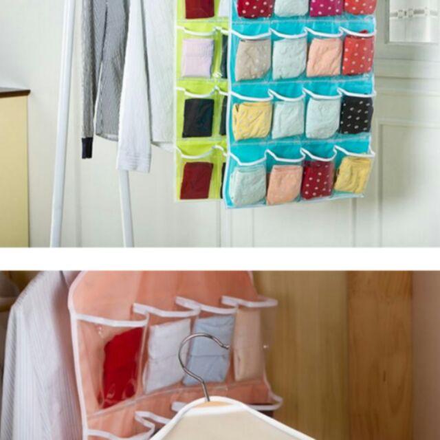 宇亦)整理袋~信封袋~童鞋袋~可掛在衣櫥不含掛衣架