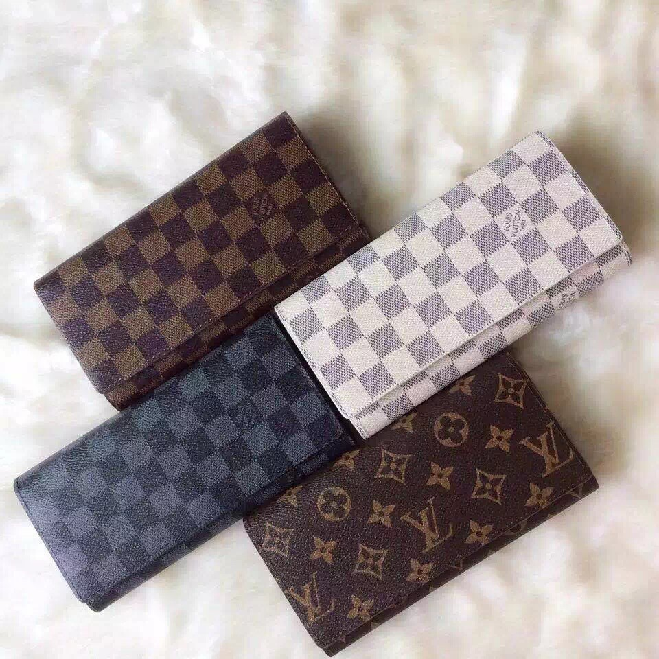 Louis Vuitton LV LV 長夾三折LV 錢夾錢包皮夾