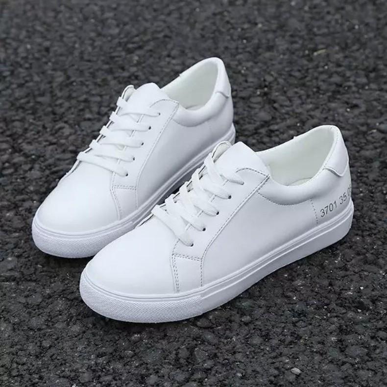 2017  女鞋 休閒鞋 鞋女板鞋學生跑步鞋平底小白鞋潮