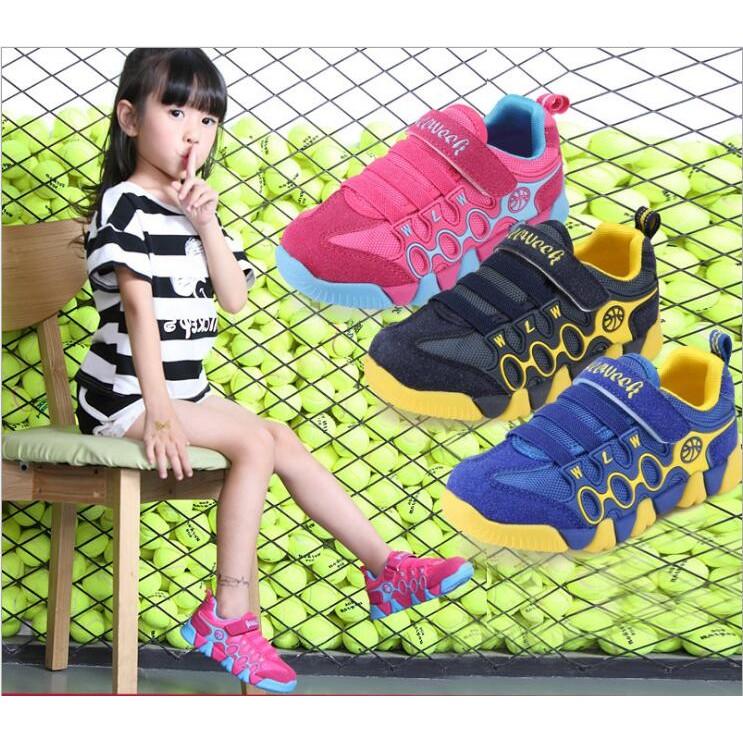 wellweek 童鞋兒童鞋子2017 秋款男童中大童 鞋跑步鞋機能鞋