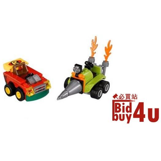 必買站  樂高LEGO 76062 Super Heroes 羅賓vs 班恩碰碰車不含人偶