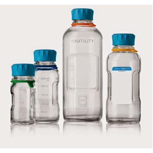 德國 YOUTILITY 血清瓶~高 多 玻璃瓶~250 500 、1000 mL