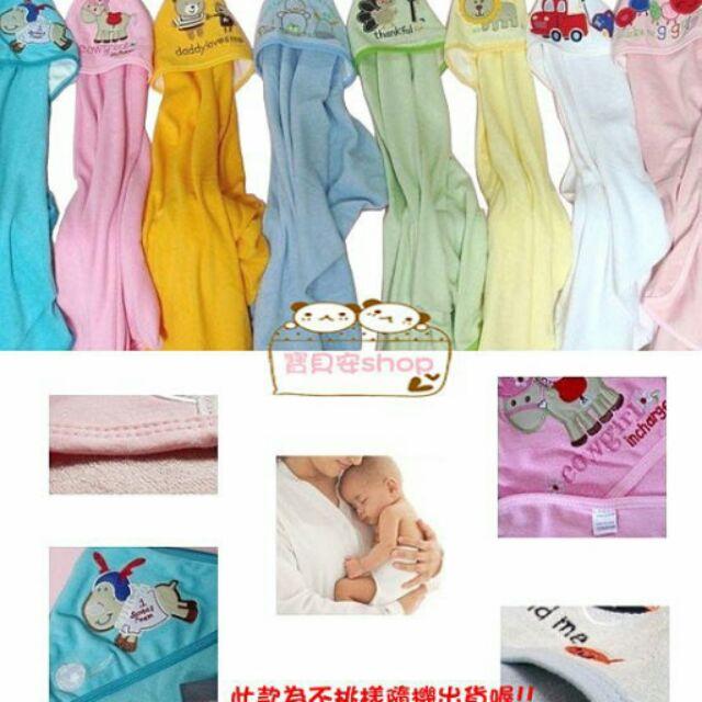 ~寶貝安shop ~純棉繡花抱毯浴巾蓋毯包巾冷氣毯推車毯